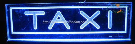 Đèn Led xanh lam xe taxi,Tratexco chuyên cung cấp Đèn Led xanh lam báo có khách lắp trên xe taxi